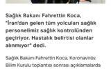 وزیر بهداشت #ترکیه به نقل از # … وزیر بهداشت #ترکیه به نقل از # … 541640001582296604 160x100