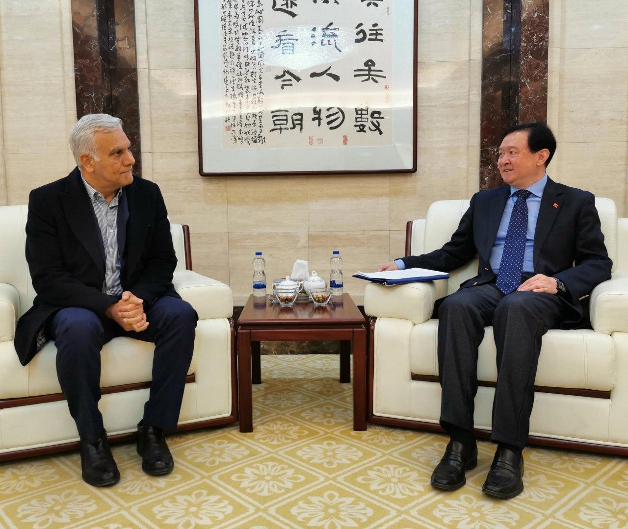 سفیر چین در ایران: در دیدار با … 587344001580671205
