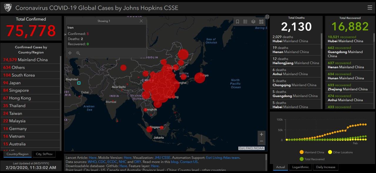 ⚠️⚠️⚠️ نقشۀ دانشگاه جان هاپکین … 954939001582225204