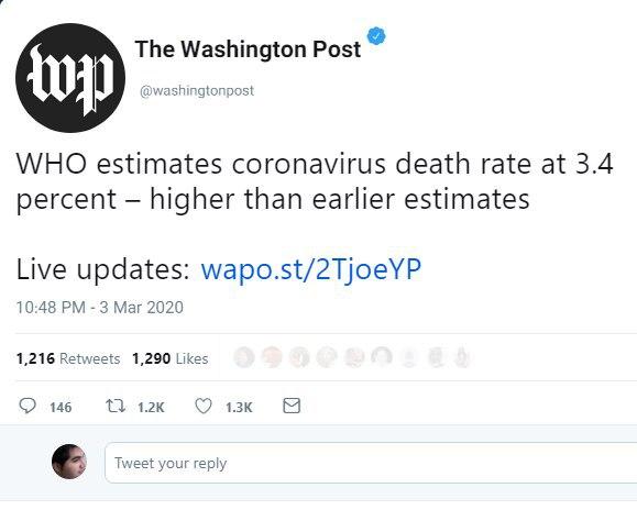 برآورد جدید سازمان بهداشت جهان … 298110001583272204