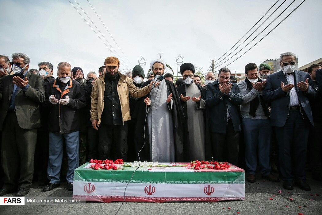 تشییع جنازه حسین اسداللهی که … 773075001584968407