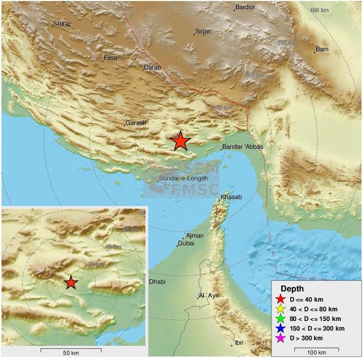 زلزله ۵/۵ ریشتری در ۱۰۵ کیلوم … 835978001584310804