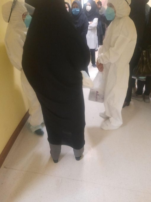 #پرستاران امام رضا مشهد در اعت … 327403001586005806