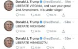 دونالد ترامپ خواستار برداشته ش … دونالد ترامپ خواستار برداشته ش … 605477001587158404 160x100
