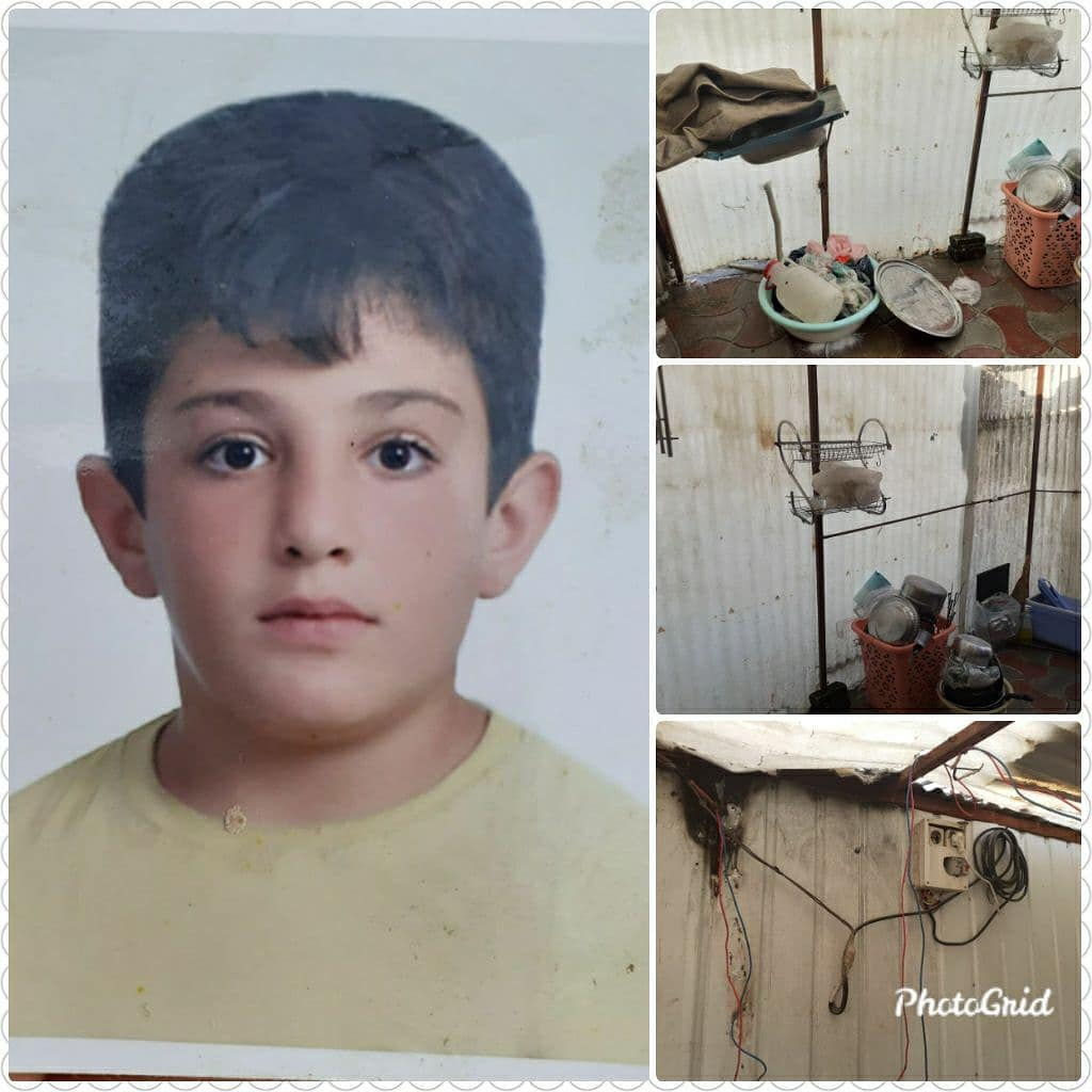 پسر بچه ۱۰ ساله در کانکس محل ز … 673679001587551406