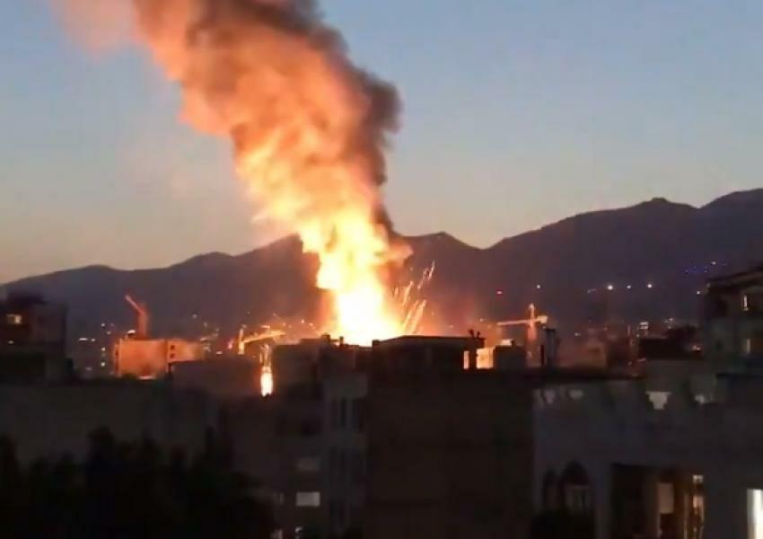 آتشسوزی مرکز درمانی سینا اطهر … 464357001593540605