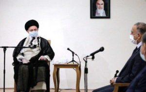 ملاقات خامنهای با کاظمی، بعد … ملاقات خامنهای با کاظمی، بعد … 322040001595360405 300x190
