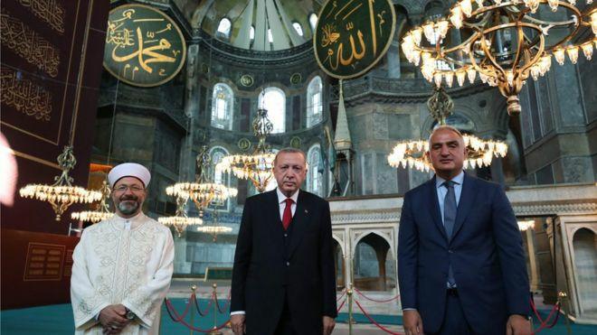 برگزاری نماز جمعه در ایاصوفیه … 797604001595585404