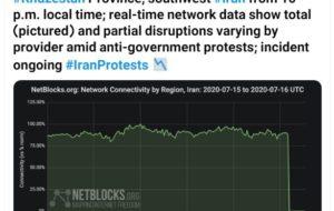وضعیت اینترنت خوزستان از ساعت … وضعیت اینترنت خوزستان از ساعت … 837625001594932019 300x190