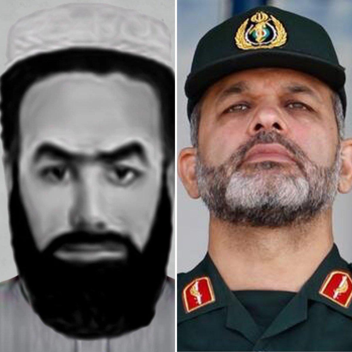 سمت چپ: سراجالدین حقانی، وزیر … 654461001631030407